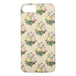 Floral pattern vintage rose flower phone case