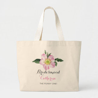Floral personalized Bridesmaids Bag