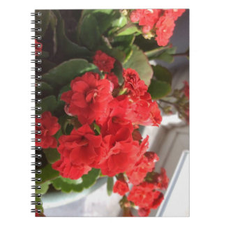"""Floral"" Photo Notebook (80 Pages B&W)"