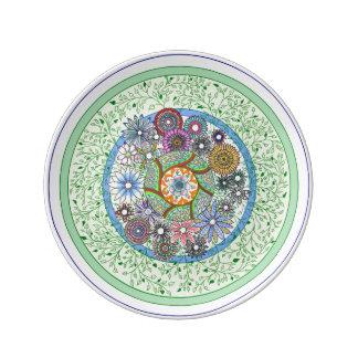 Floral Plate Porcelain Plate