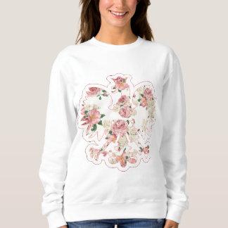 Floral Polish Eagle Sweatshirt