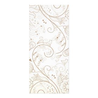 Floral Custom Rack Cards