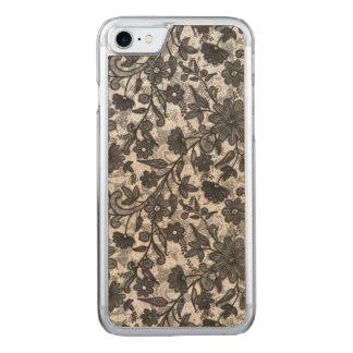 Floral Sketch Carved iPhone 8/7 Case