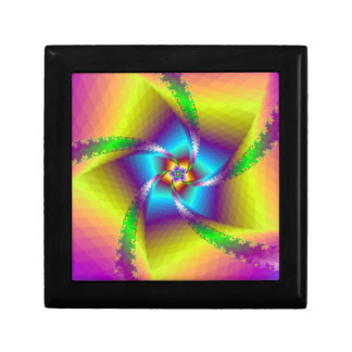 Floral Spiral Gift Box