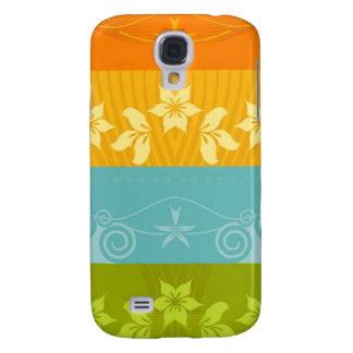 Floral Splash  Galaxy S4 Case