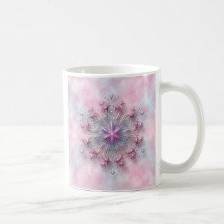 Floral Spring Sunrise decorated classic coffee mug