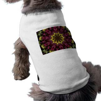 Floral Symphony Doggie Tees - Kaleidoscope
