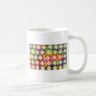 Floral Theme Basic White Mug