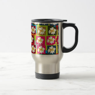 Floral Theme Travel Mug