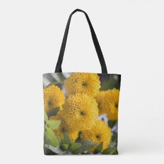 Floral tote bag - Chrysanthemum