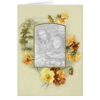 Floral Touch 6 Greeting Card