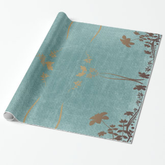 floral vintage pattern wrapping paper