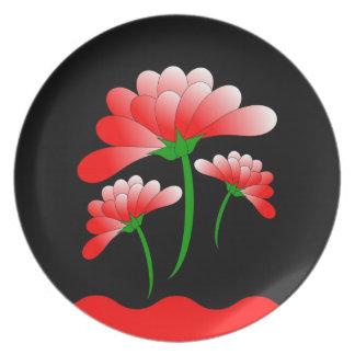 Floral Zen Plate