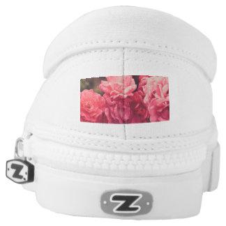 Floral Zipz Slip On Shoes, US Men 8 / US Women 10