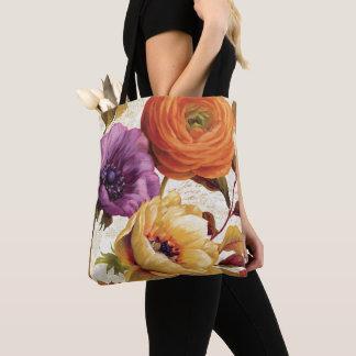 Florals in Full Bloom Tote Bag