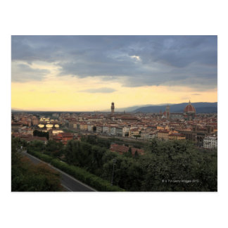Florence, Italy Cityscape. Postcard