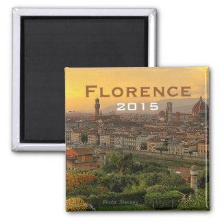 Florence Italy Travel Fridge Magnet Change Year