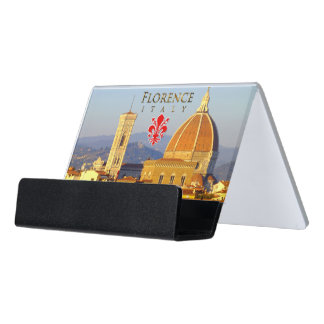 Florence - Santa Maria del Fiore Desk Business Card Holder