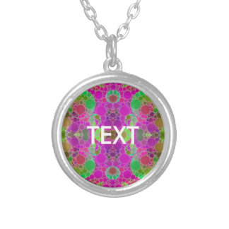 Florescent Abstract Pendant
