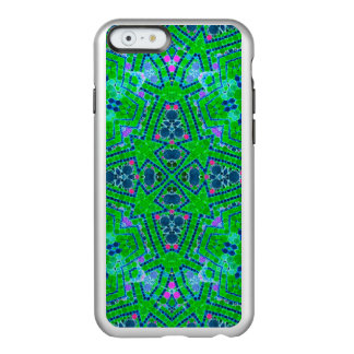 Florescent Green Abstract Pattern Incipio Feather® Shine iPhone 6 Case