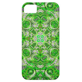 Florescent Green Grey Abstract iPhone 5 Cover