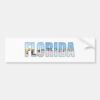 Florida beach bumper sticker