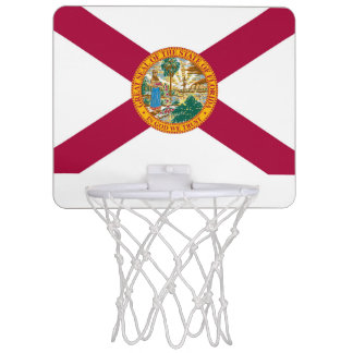 Florida flag mini basketball hoop
