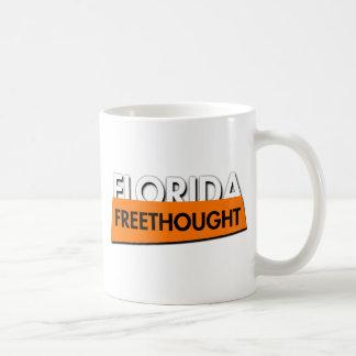 Florida Freethought (on white) Basic White Mug