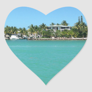 Florida Keys Heart Sticker