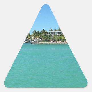 Florida Keys Triangle Sticker