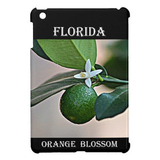 Florida Orange Blossom and small Orange iPad Mini Covers