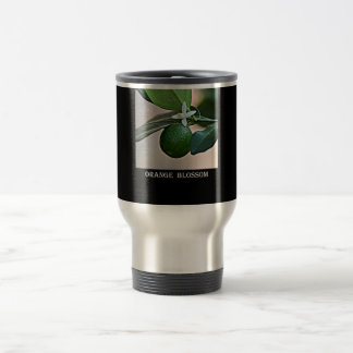 Florida Orange Blossom and small Orange Travel Mug