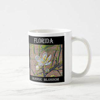 Florida Orange Blossom Basic White Mug