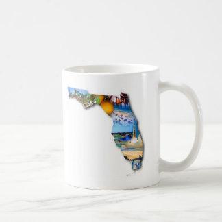FLORIDA PICTURE DESIGN COFFEE MUG