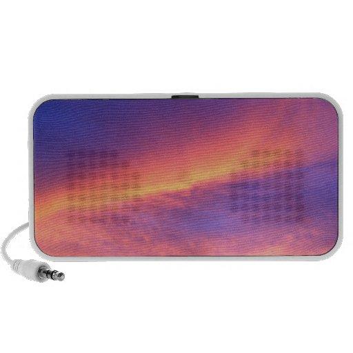 Florida sunset notebook speakers