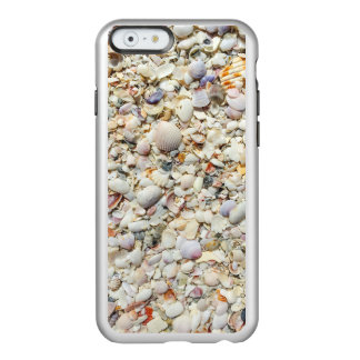 Florida Tropical Sea Shells Beach Shell Background Incipio Feather® Shine iPhone 6 Case