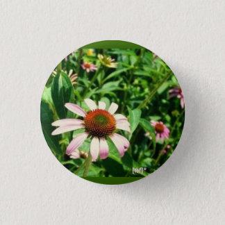 Flower 3 Cm Round Badge