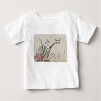 Flower and Birds Baby T-Shirt