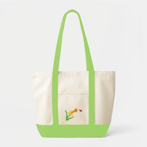 Flower and Lady Bug Bag
