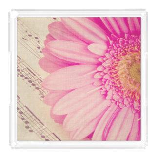 Flower and rhythm perfume tray
