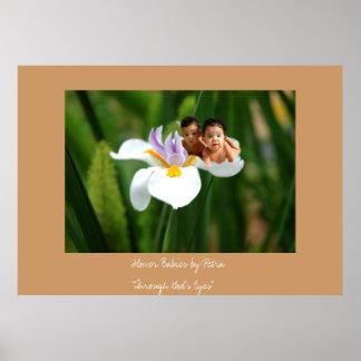 Flower Babies Poster