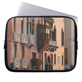 flower baskets and ornate Palace details, Italy Laptop Sleeve