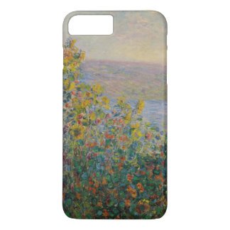 Flower Beds at Vetheuil by Claude Monet iPhone 8 Plus/7 Plus Case