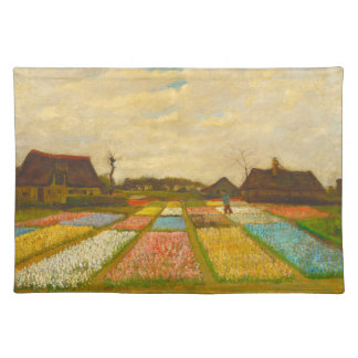 Flower Beds in Holland by van Gogh Placemat