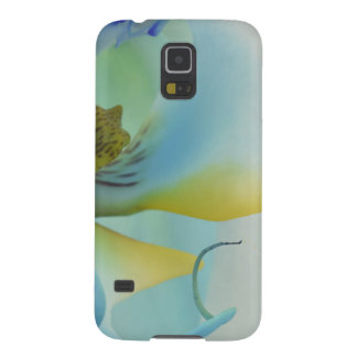 Flower Blue Orchid Galaxy S5 Case