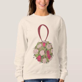 Flower Bouquet Bride Bridesmaid Wedding Sweatshirt