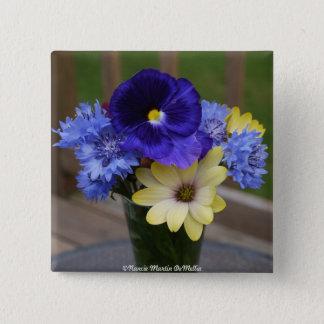Flower Bouquet- Button