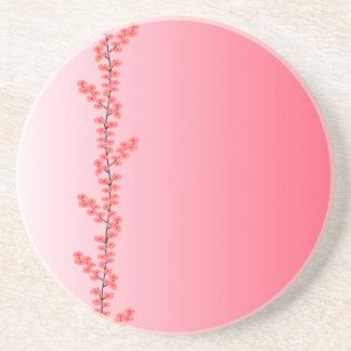 Flower Branch coaster, customize Coaster