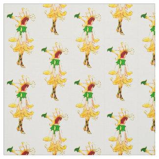 FLOWER CHILD - HONEYSUCKLE FLORAL FAIRY PATTERN FABRIC