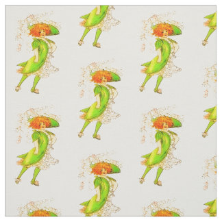 FLOWER CHILD - LILY-OF-THE-VALLE FLORAL PATTERN FABRIC